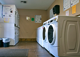 Laundry Room at Houston East RV Resort