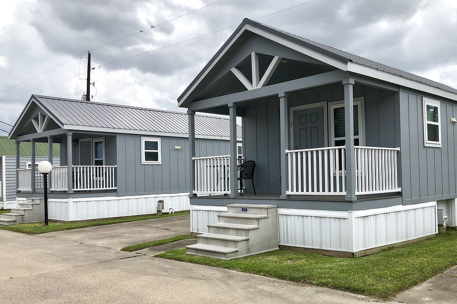 Newly updated cottages