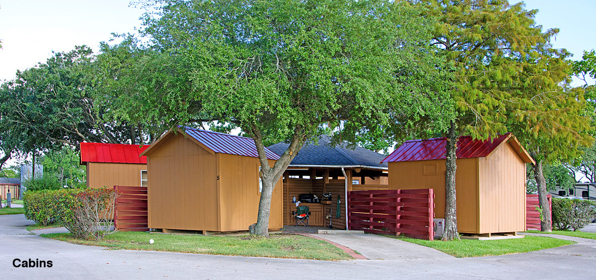 Cabins at Houston East RV Resort