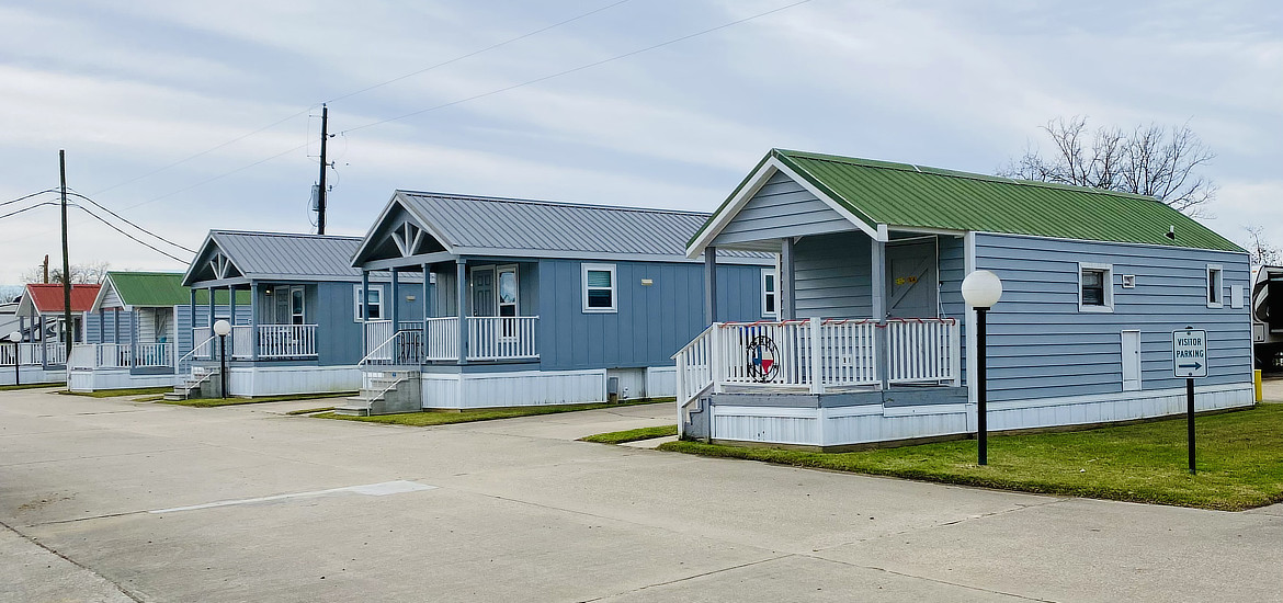 Lodges at Houston East RV Resort